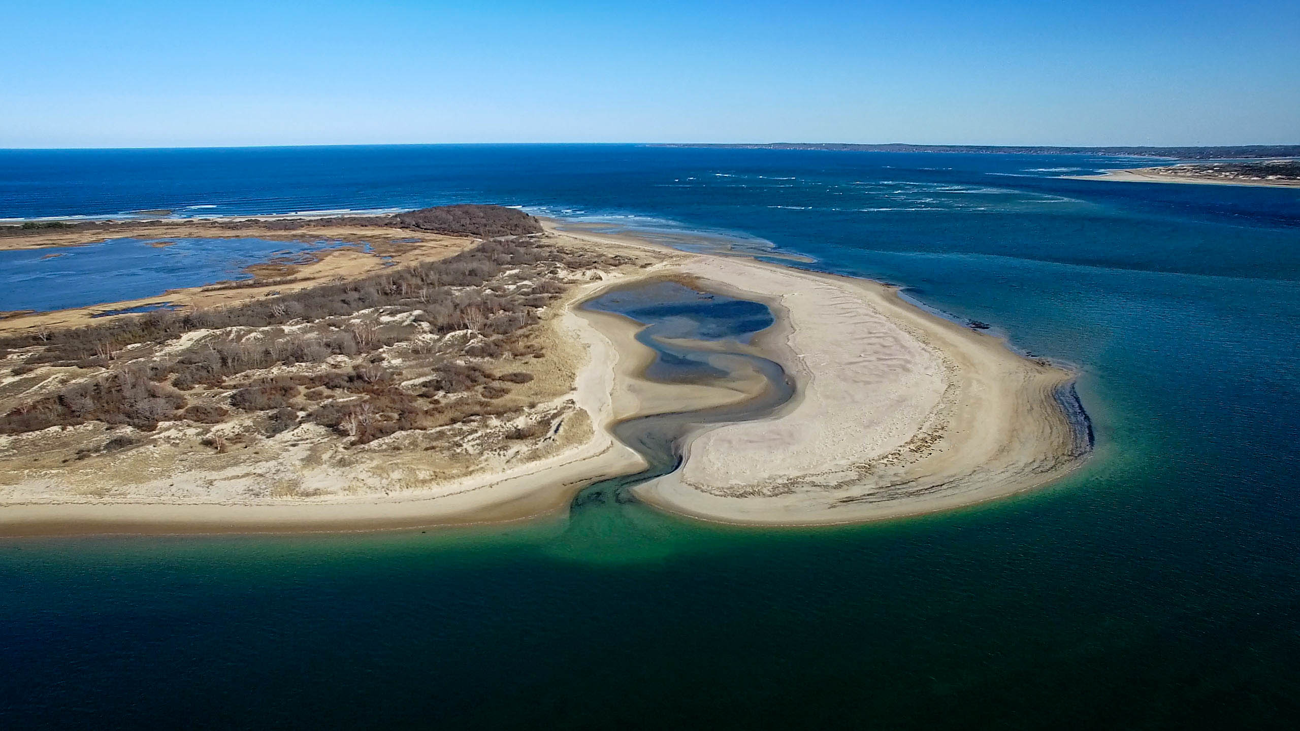 Sandy Point State Reservation from 400'